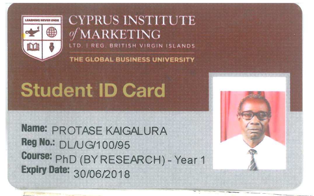 THE CYPRUS INSTITUTE OF MARKETING LTD.